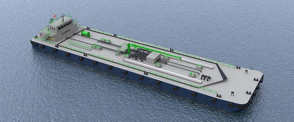 Lightering barge - Wolverine Terminals